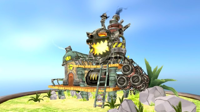 Goblin Bomb Factory 3D Model