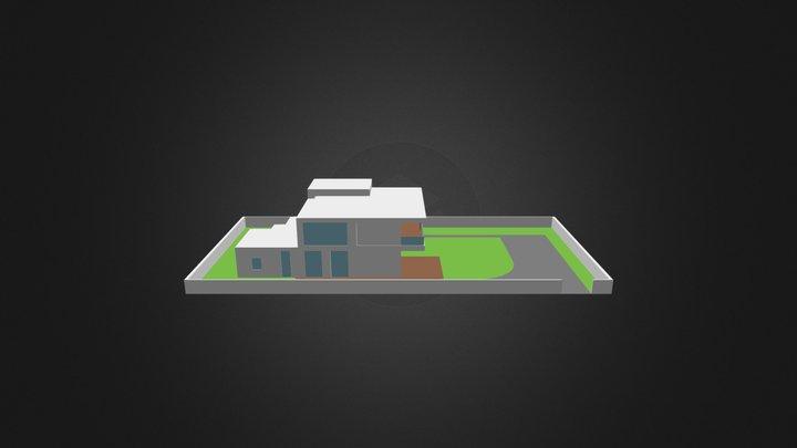 ecohouse_v141206-01-vykousnuty 3D Model