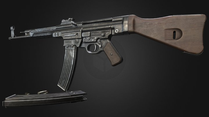 MP44 3D Model