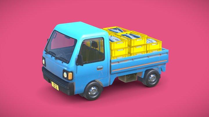 Kei Truck 3D Model