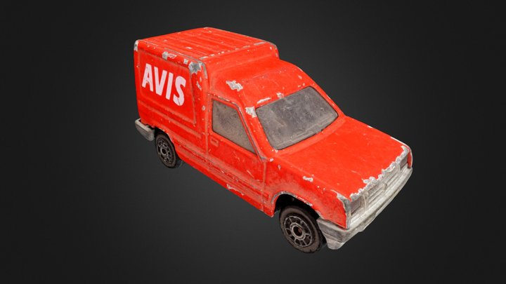 Avis Car 3D Model