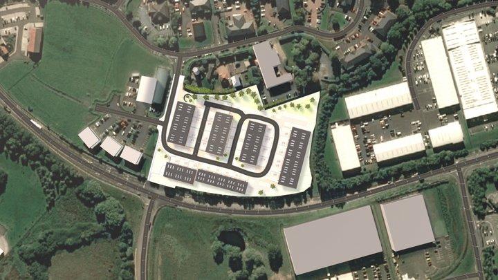 Access442 Site plan 3D Model
