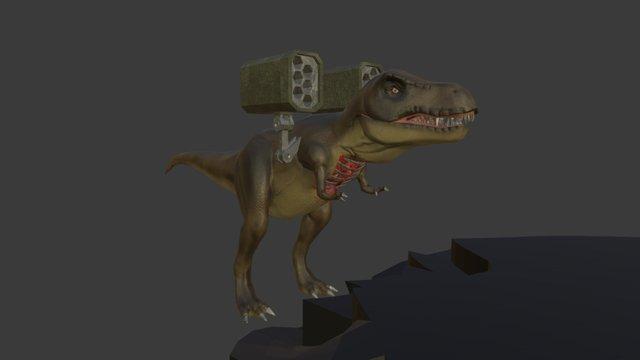 T-Rex Animations 3D Model