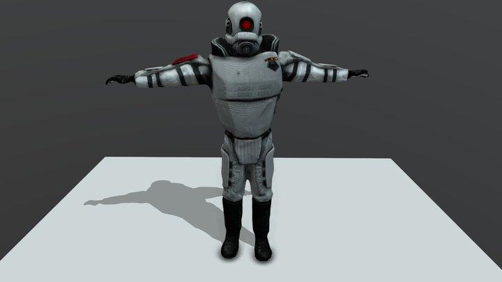 Half-Life: Combine Elite 3D Model