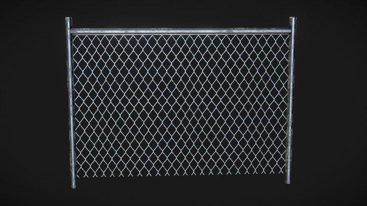 Fence - 445 3D Model