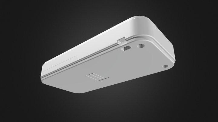 ポータブルプラスチックケース CS90(CR2032電池ボックス付) 3D Model
