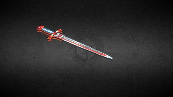 Dragon_sword_test 3D Model