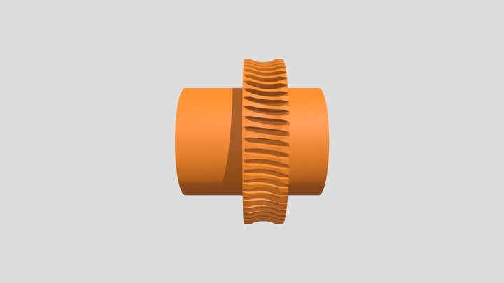Worm Wheel for KOSMOS system 3D Model