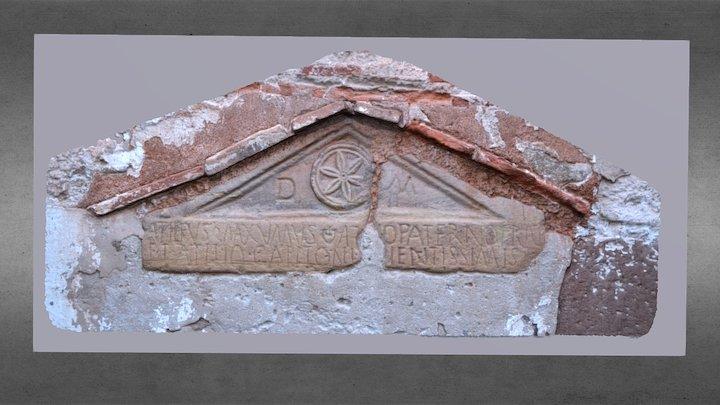 Lápida romana, Tricio (La Rioja, España) 3D Model