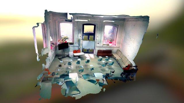 "API Moscow Half ""Gagarin"" room 3D Model"