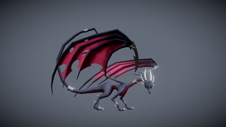 Topology Exercise Phase II (with Cynder) 3D Model