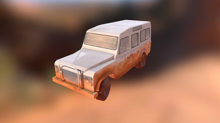 LandRover Defender 110 - Finished version 3D Model