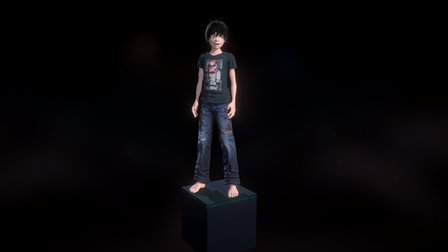 Loki Future Avatar Test 3D Model