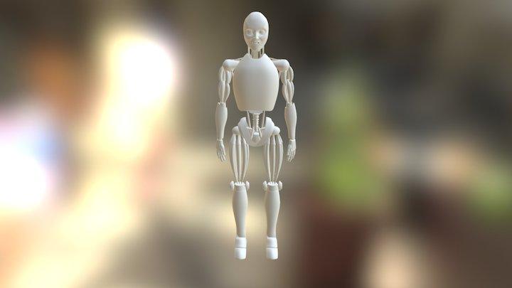 i-robot 3D Model
