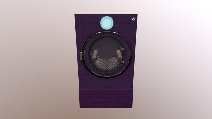 Dryer/Washer 3D Model