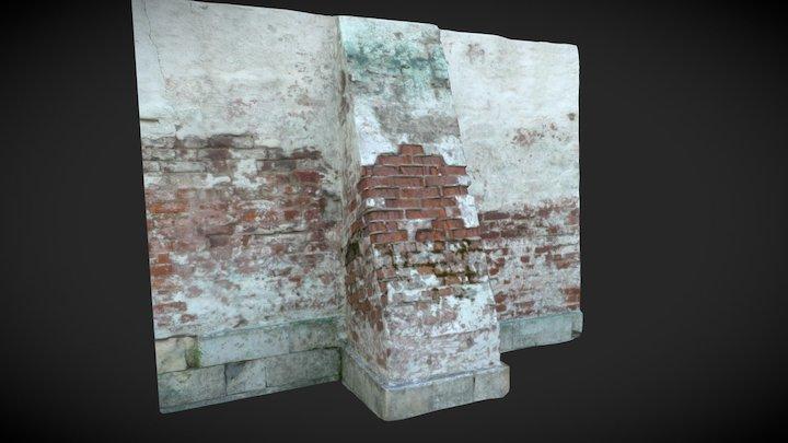 Monastery wall 3D Model