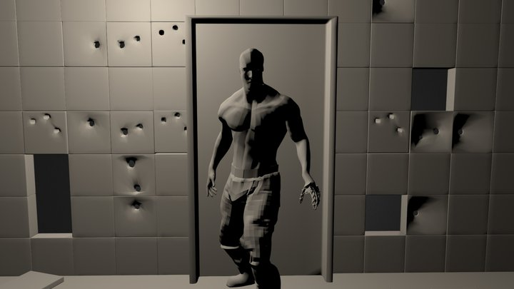 The Android Persecution 3D Model