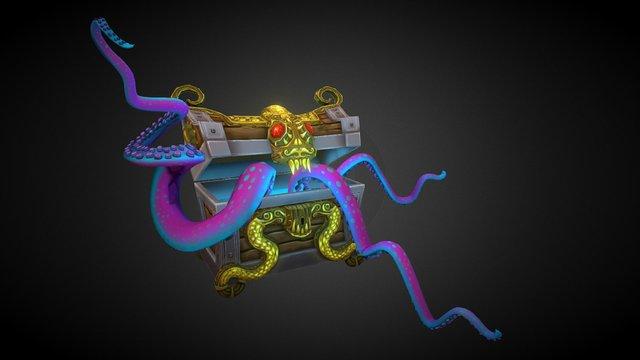 Pirate A Chest A 3D Model