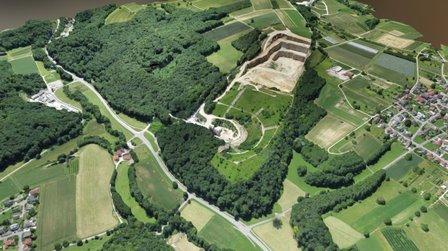 Steinbruch Kapf (Istein) - Übersicht 2015 by WWL 3D Model