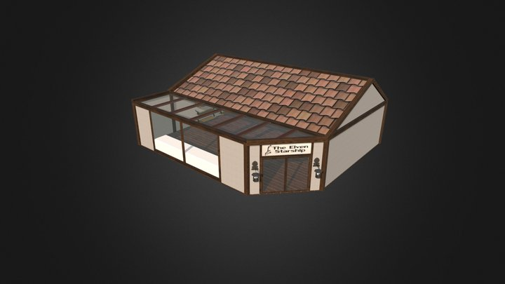 Small Store 3D Model