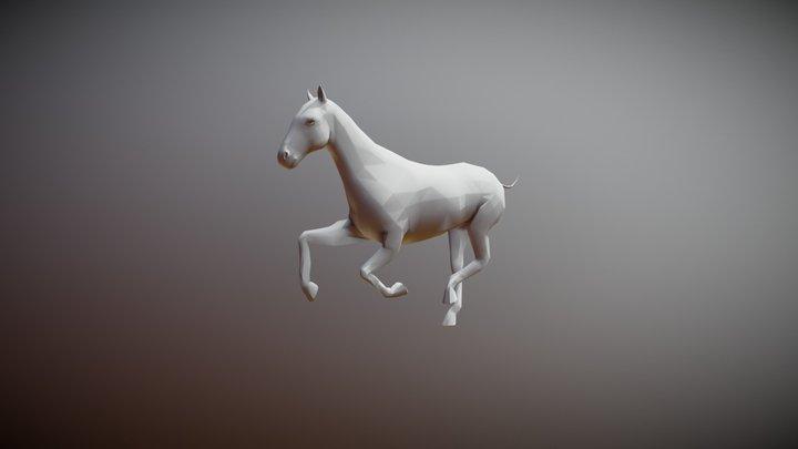 HEAJ EXAM - Horse Run 3D Model