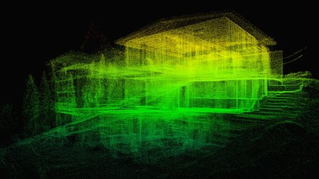 Lake House - 3D Laser Scan 3D Model