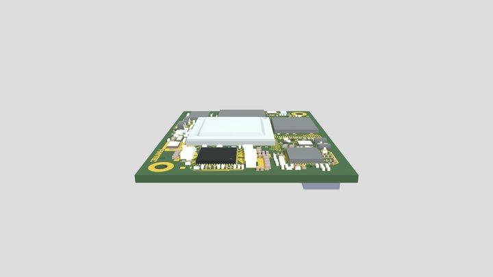 phyCORE-i.MX8X (PCM-065) 3D Model