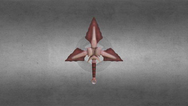 Tri-Dagger 3D Model