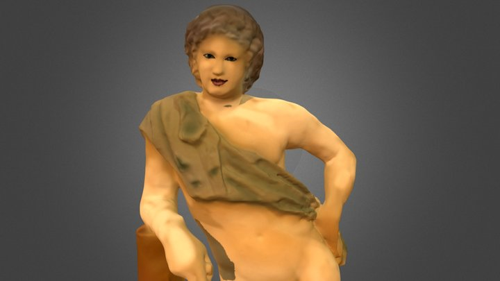 Reconstruction: Satyr in the Eskenazi Museum 3D Model