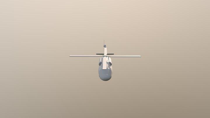 Helicopter FBX 3D Model