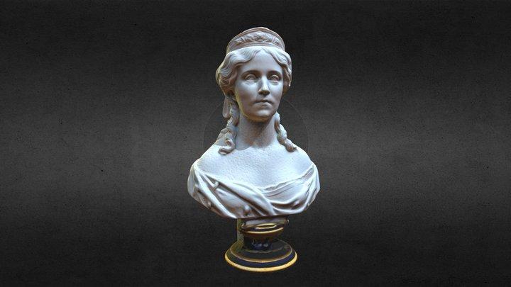 Crown princess Augusta of Prussia 3D Model