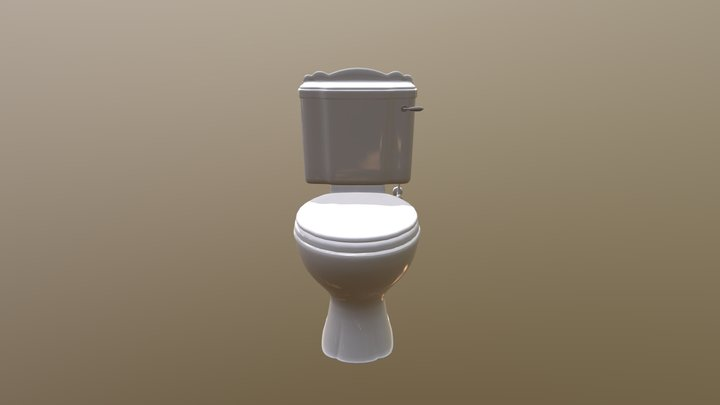 Versailles WC With Seat 3D Model