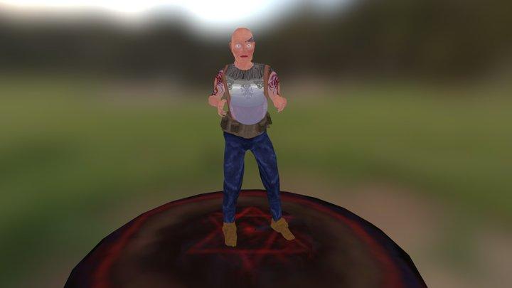 Seidh Character 3D Model