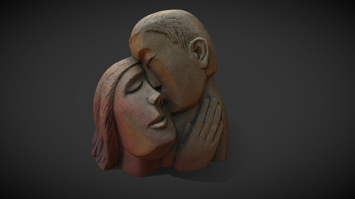 A Pair Of Lovers 3D Model