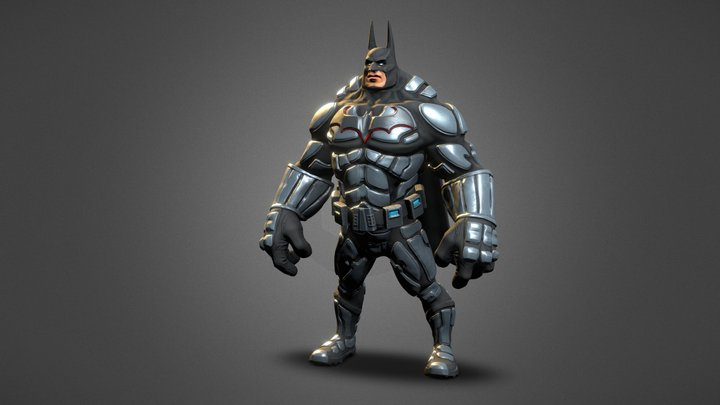 Batman - 4ueka prilep 3D Model
