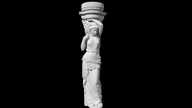 Caryatid-1 1180х310х172mm 3D Model