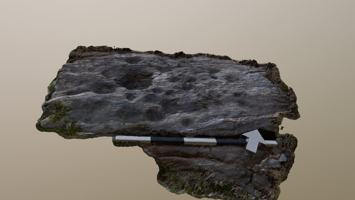 Kilbridebeg 3 - Joe's rock 3D Model