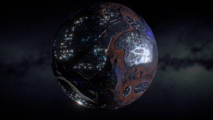 Tech Planet 3D Model
