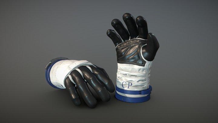 Cosmonaut Gloves 3D Model