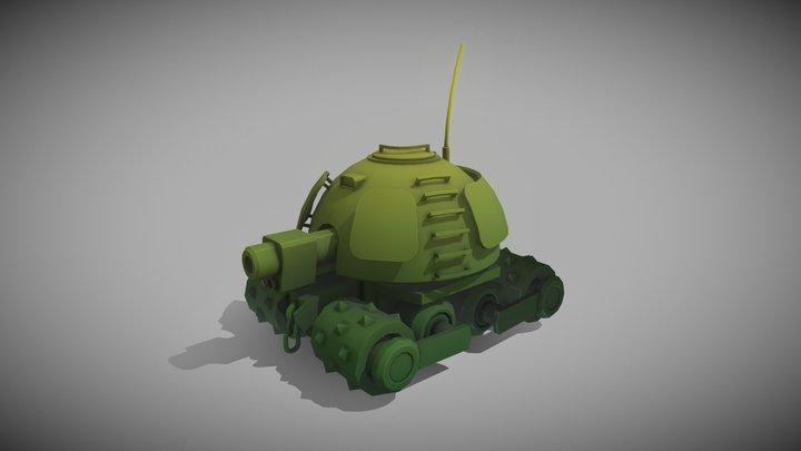 Concept tank 3D Model