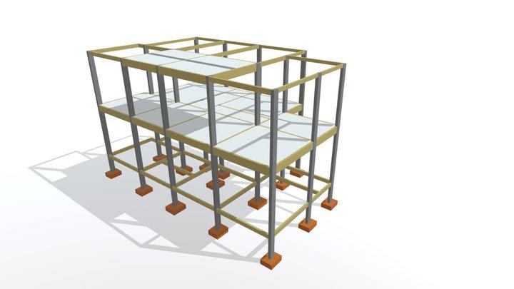 Projeto Estrutural - Duplex 3D Model
