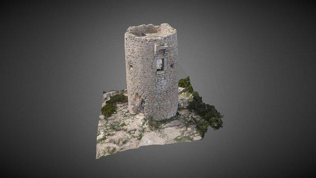 Torre de Ebri (Alcalá de Xivert, Cstellón) 3D Model