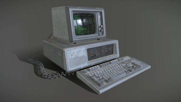 IBM Computer 3D Model