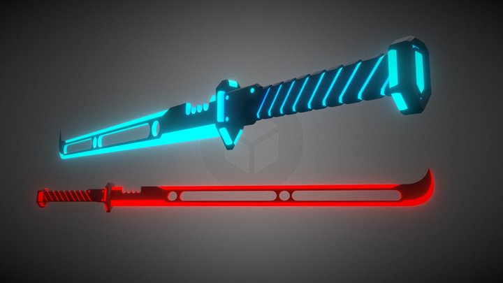 Beat Saber   Custom Sabers: 'Dual Swifts Mk. II' 3D Model