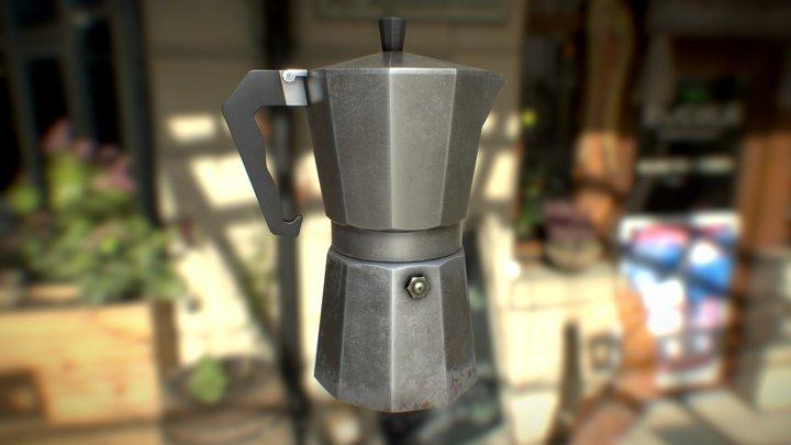 Coffee Percolator 3D Model