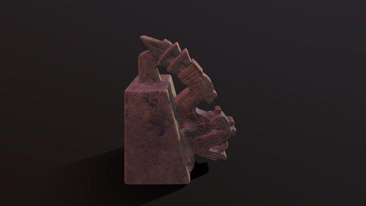 Xiuhcoatl statue 3D Model