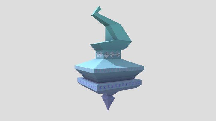 GlitchHitch_Building1 3D Model