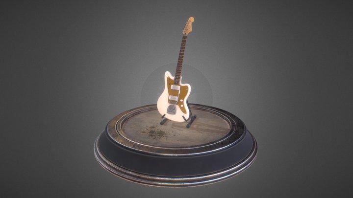 Squier Jazzmaster by Fender : Scene 3D Model
