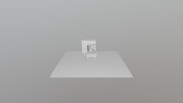Советский интерьер 3D Model