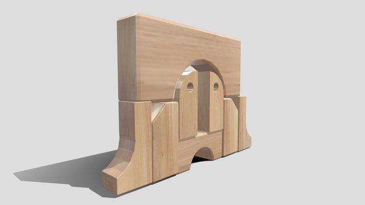 Block2right 3D Model